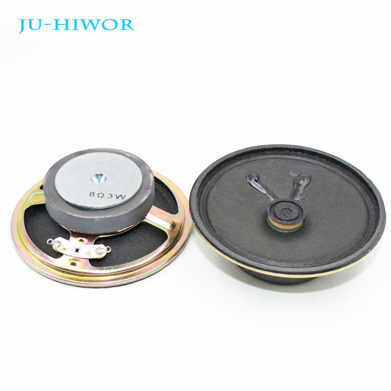 1pcs Speaker external magnetic small speakers 3W8R 57MM 5.7CM thick 17MM