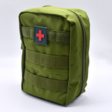 First Aid Bag Military Kit Medical Quick Pack