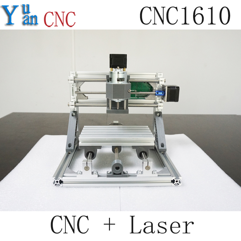 2500mw+CNC 1610 GRBL control Diy CNC machine,working area 16x10x4cm,3 Axis Pcb Pvc Milling machine,Wood Router,Carving Engraver