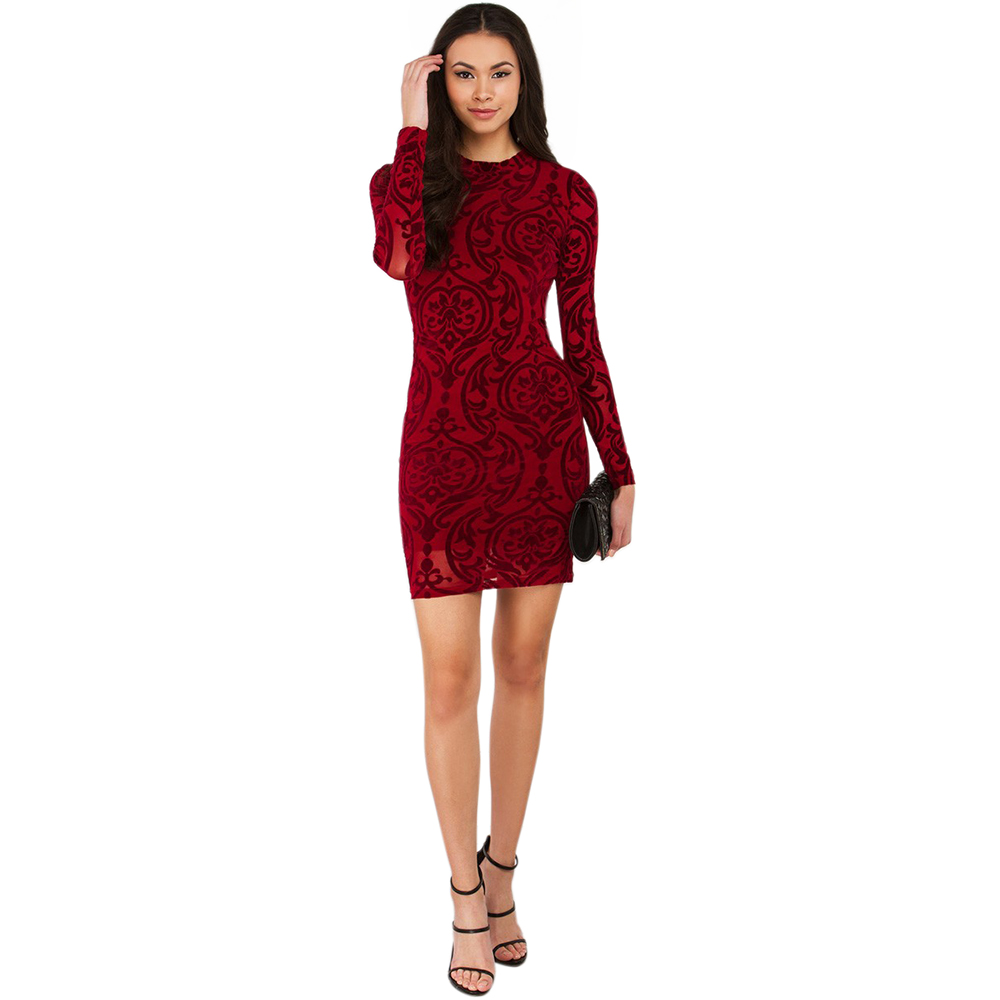 Elegant dresses with sleeves for teens champagne sleeved semi formal - Tilapia 2017 New Slim Sexy Club Party Mini Dress Backless Semi Formal Vestidos Prom Party Elegant Dress For Lady