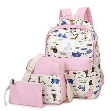 Satchel school bags 3 set /pcs School orthopedic satchel Backpacks for children School bag for girls mochilas escolares infantis backpack for girls 3 pieces school bags mochilas escolares infantis backpacks for adolescent girl butterfly children s backpacks
