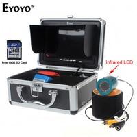 Free Shipping EYOYO CR110 7LDVR30M 30m 7 LCD Underwater Video DVR Camera IR 16GB Fish Finder