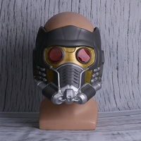 Cos Guardians of the Galaxy Helmet Mask Cosplay Peter Quill Helmet Star Lord Mask Helmet Halloween Party Mask Adults