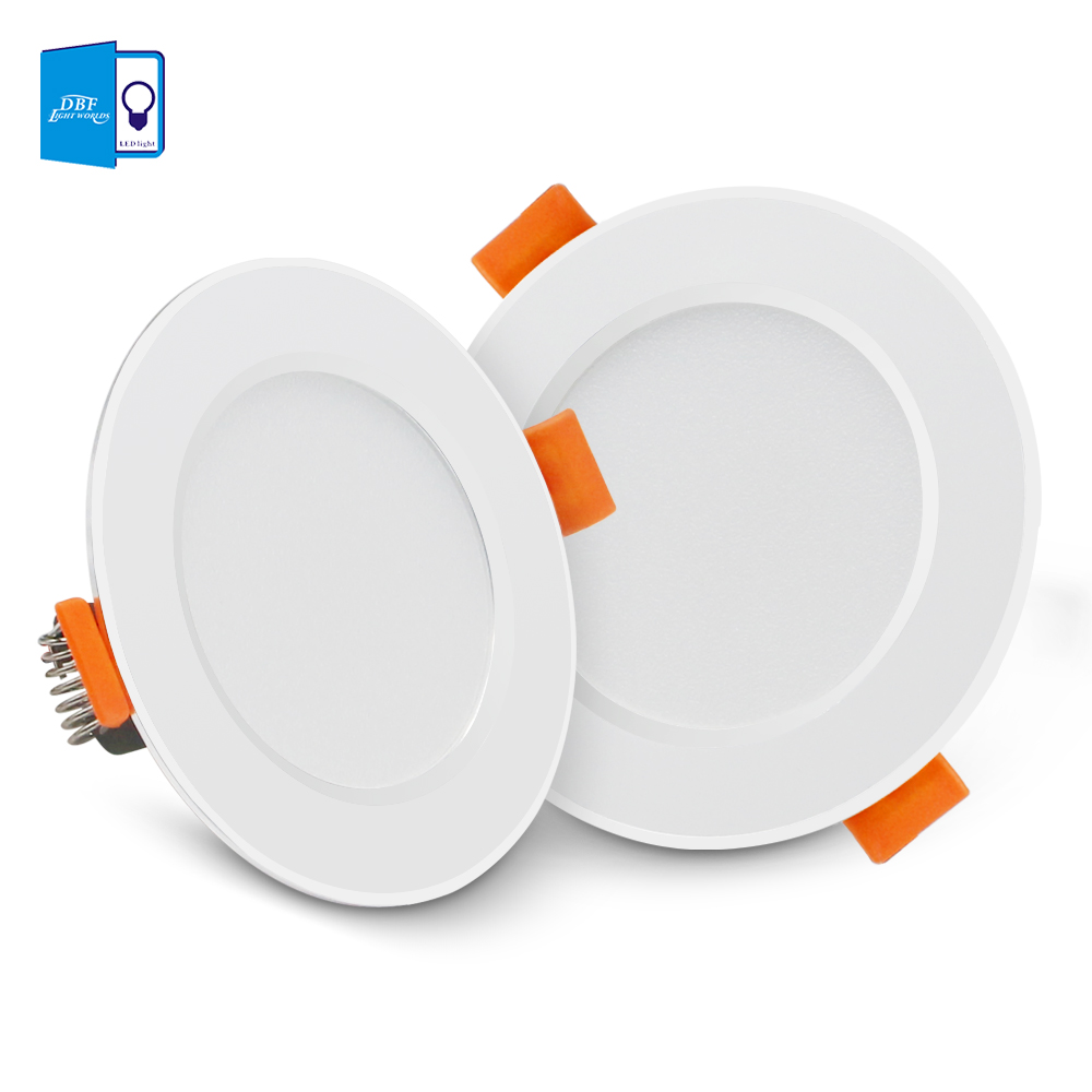 [DBF]Ultra Thin Round 2-in-1 SMD 2835 LED Downlight 3W 5W 7W 9W 12W Aluminum AC220V Driverless LED Ceiling Recessed Spot Light[DBF]Ultra Thin Round 2-in-1 SMD 2835 LED Downlight 3W 5W 7W 9W 12W Aluminum AC220V Driverless LED Ceiling Recessed Spot Light