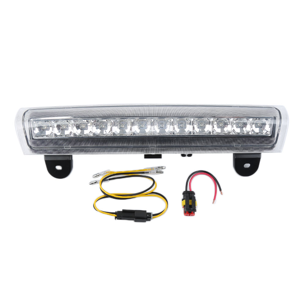 Liplasting Clear Housing Rear Roof 3 RD Third Brake LED Light for 00-06 Tahoe/Sububran/Yukon pickup truck Low power consumption