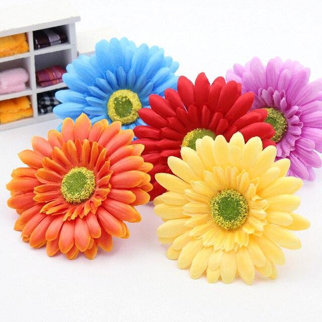 10 Pcs Bunga Sutra Bunga Matahari Tulip Ball-Karangan Bunga Bunga Dada Bunga  Pakaian Topi ddaffe0a84