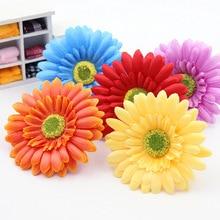 цена на Free shipping 8 pcs/lot sunflowers skil flowers Daisy Tulip chrysanthemum wedding flower garden green plant flower