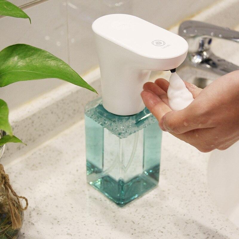 ITAS5543 distributeur automatique de savon en mousse gel shampooing désinfectant pour les mains salle de bain toilette hôtel aéroport salle de bains accessoires