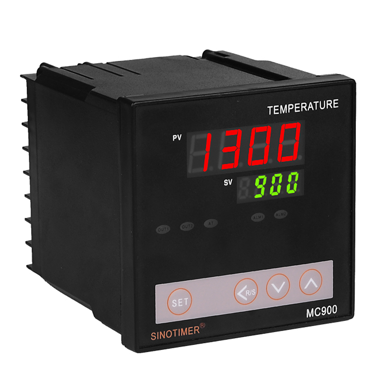 Universal Input Digital PID Temperature Controller Relay Output K or PT100 Regulator Heating or Cooling with Alarm MC900