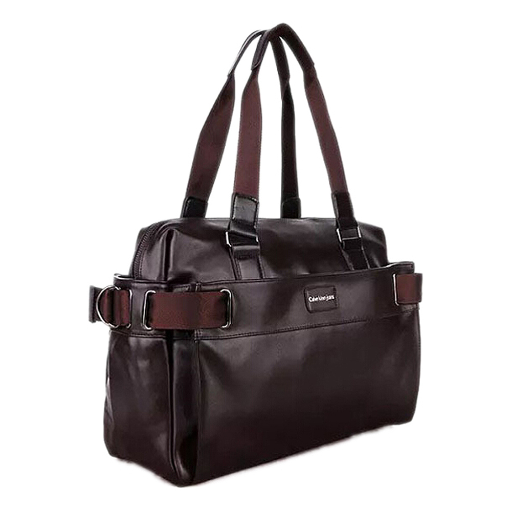 TEXU Men Casual Briefcase Business Shoulder Leather Messenger Bags Computer Laptop Handbag Men's Travel Bags