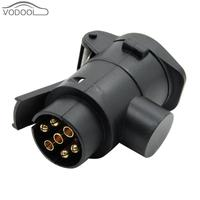 Waterproof 7 Pin To 13 Pin 12V Plug Truck Cable Round European Vehicle Signal Light Socket