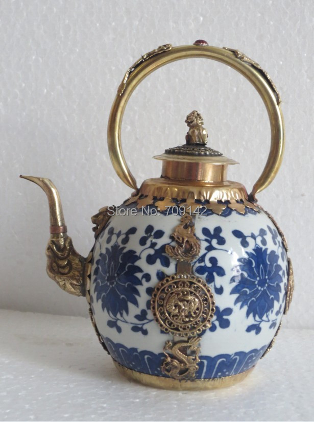 Vintage Old Japanese portrayal ceramics wine cup bowl Burning flagon tray set
