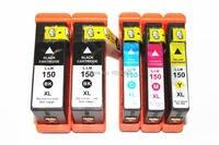 Lexmark S515 S715 Pro715 Pro915 H.Q 용 5 x 호환 Lexmark 150 XL 잉크 카트리지