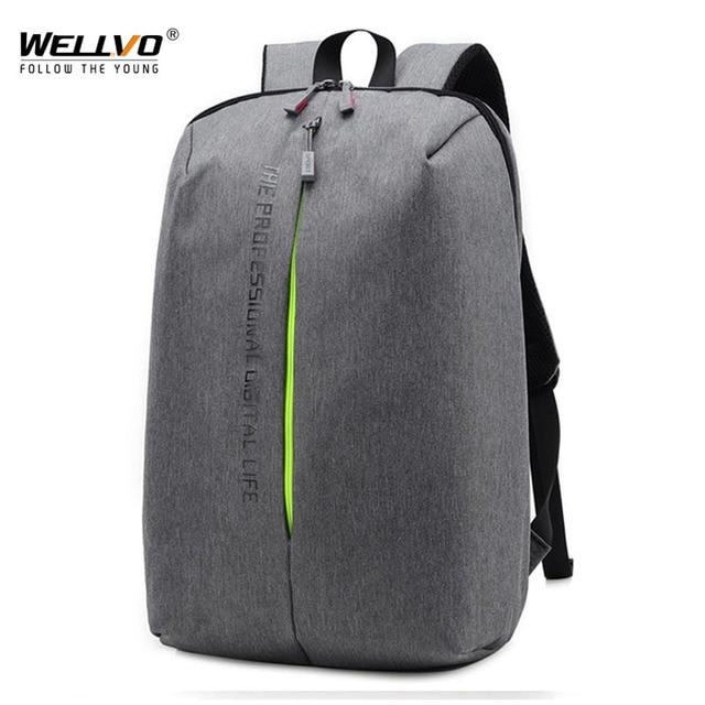 Canvas Notebook Backpacks Men Laptop Backpack Teenage Boys School Bag Men s Large  Capacity Travel Bags Students 133d2c63c4706