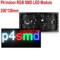P4 Крытый RGB СВЕТОДИОДНЫЙ Модуль 256*128 мм 64*32 пикселей для полноцветных СВЕТОДИОДНЫЙ дисплей Прокрутки сообщение ПРИВЕЛО знак P4 SMD RGB LED дисплей