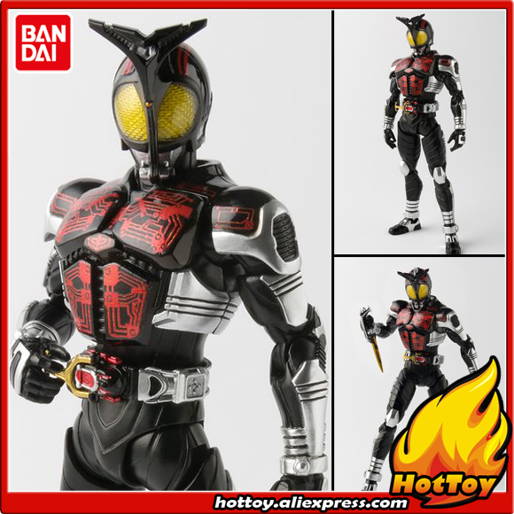 Original BANDAI Tamashii Nations S.H.Figuarts (SHF) Exclusive Action Figure - Masked Rider Dark Kabuto Masked Rider Kabuto original bandai tamashii nations robot spirits exclusive action figure rick dom char s custom model ver a n i m e gundam