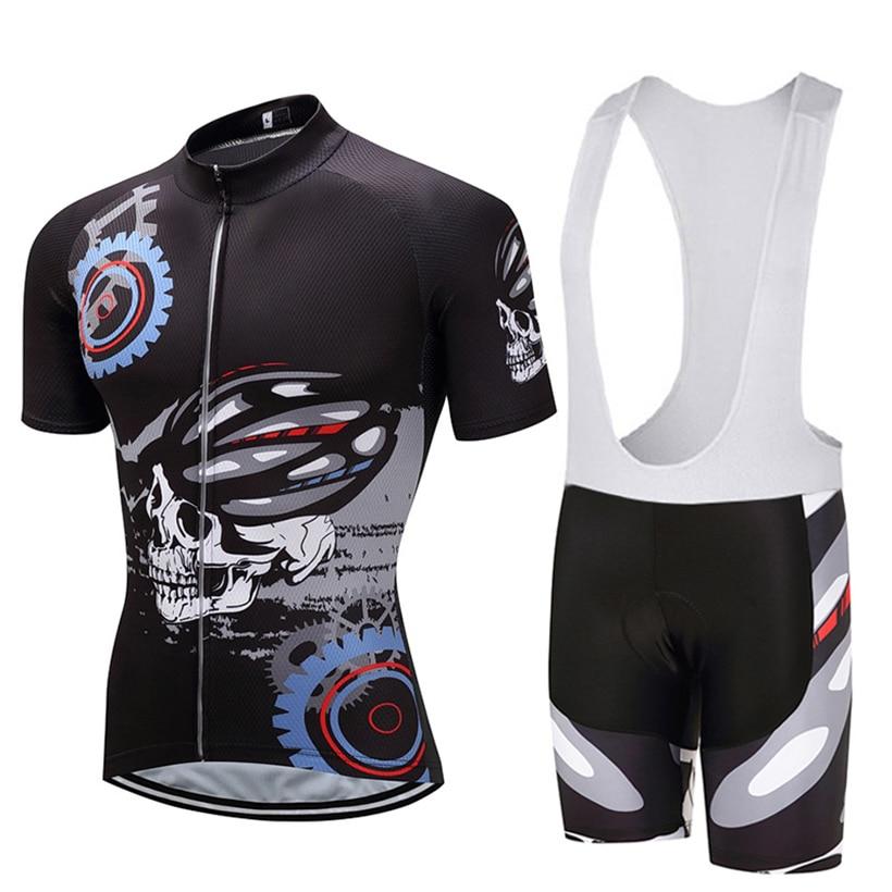Crossrider 2019 Crânio Camisa de Ciclismo MTB Bicicleta Roupa Ropa ... 66f6a79f14a35