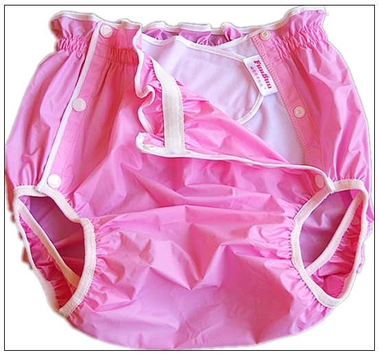 Free Shipping FuuBuu2219-Pink-XL-1PCS Waterproof pants/Adult Diaper/incontinence pants /Pocket diapers image