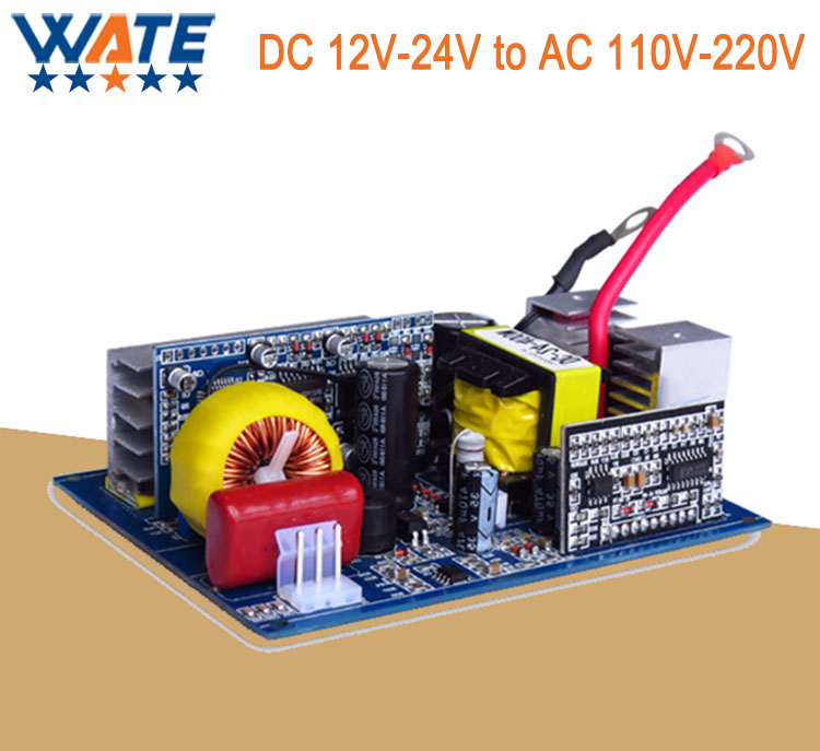 300W DC 12V/24V to AC 220V/110V pure sine inverter board /frequency inverter board Backup Power china manufacture sell 300w 12v to 115v car use inverter maili brand one year warranty