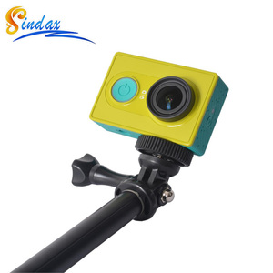 Image 3 - 防水一脚三脚拡張可能な一脚 Selfie スティック一脚用 xiaomi yi 4 18k II 2/SJ4000 移動プロ hero 8 5 6 7