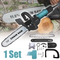 11.5 Inch Multi Function Hand held Angle Grinder Electric Saw Chain Accessories Wood Cut Garden Power Tools