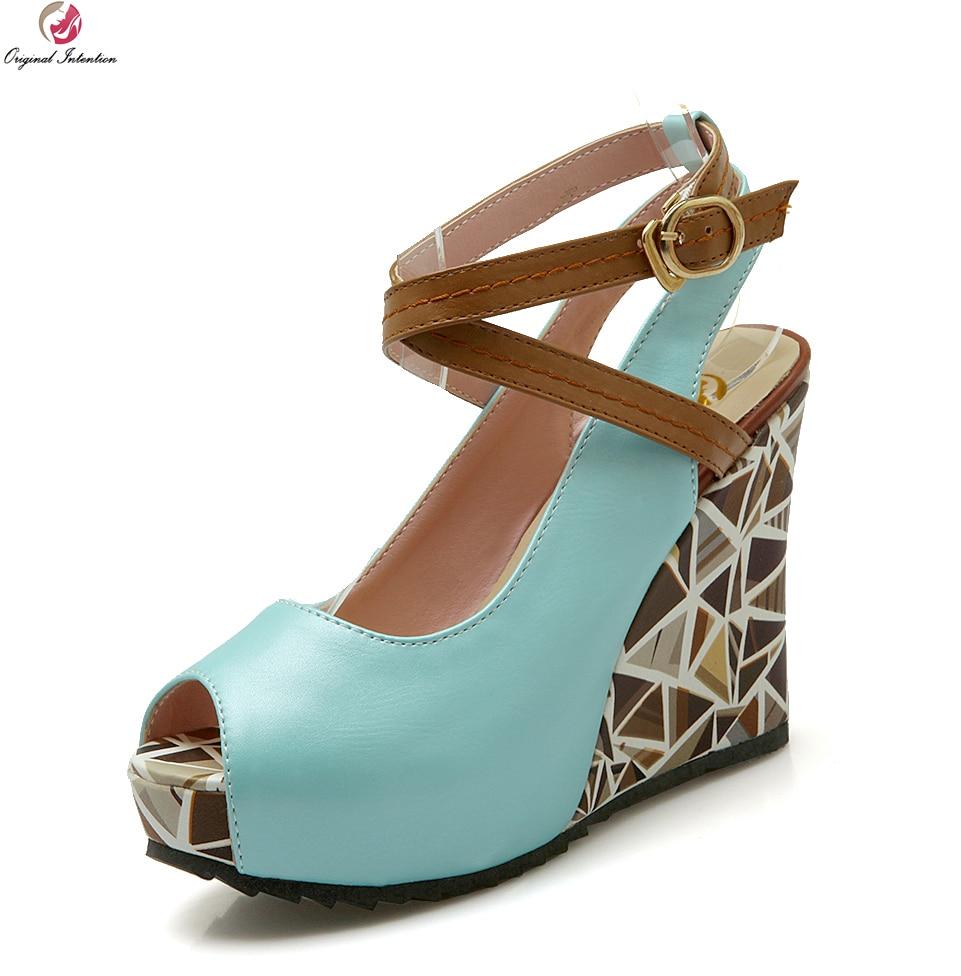 40580d5a45e5 Click here to Buy Now!! L. nouveau Populaire Femmes Sandales De Mode Coins  Talons ...