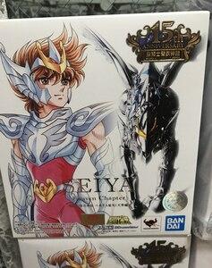 """Image 5 - 100% orijinal BANDAI ruhları Tamashii milletler Saint bez efsane aksiyon figürü Pegasus Seiya (cennet bölüm) çinden """"aziz Seiya"""""""