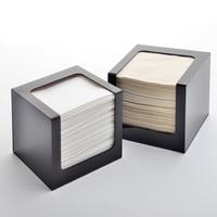 Fashional Acryl Tissue Doos, Tissue Opslag Houder, vierkante Tissue Dispenser TB006