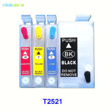 купить T2521 Refill Ink Cartridge For epson WorkForce WF-3620 WF-3640 WF-7110 WF-7610 WF-7620 wf 3620 wf 3640 wf 7610 wf 7110 wf 7620 по цене 782.23 рублей
