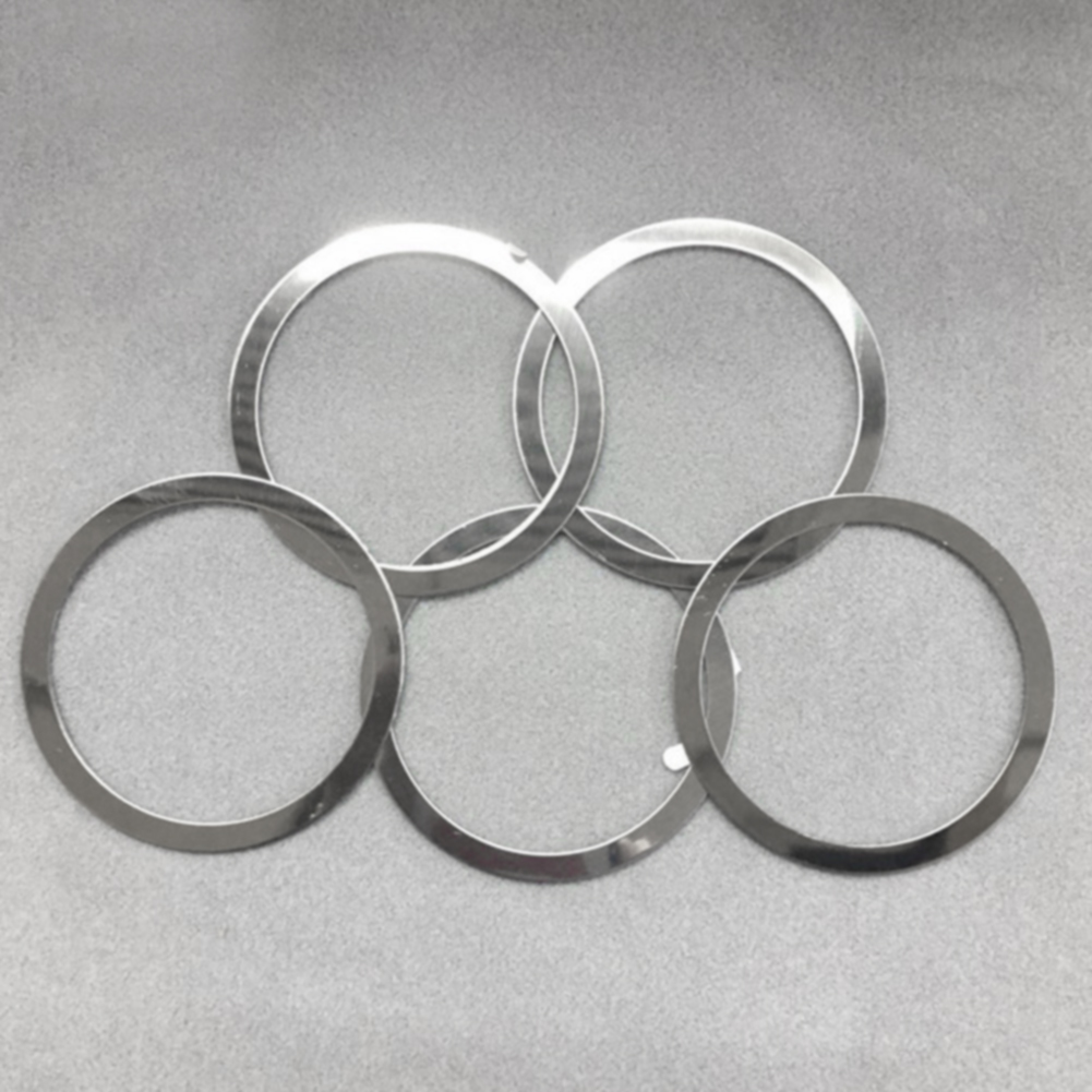 4Pcs Universal Easy Apply For Magnetic QI Charger Holder Air Vent Wireless Metal Ring Practical Portable Car Mount Round Mini