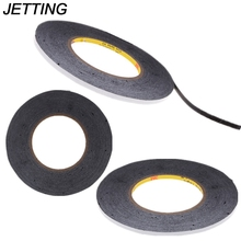 JETTING 1Roll (5MM*50M) Widely Use Black Double Sided Adhesive Tape for Smartphone
