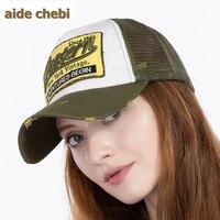 Summer Baseball Cap Embroidery Mesh Cap Hats For Men Women Gorras Hombre Polo Casual Hip Hop