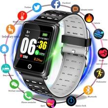 2019 LIGE New Fitness Tracker Smart Bracelet Heart Rate Blood Pressure Monitor Watch Men Pedometer Sport wristband