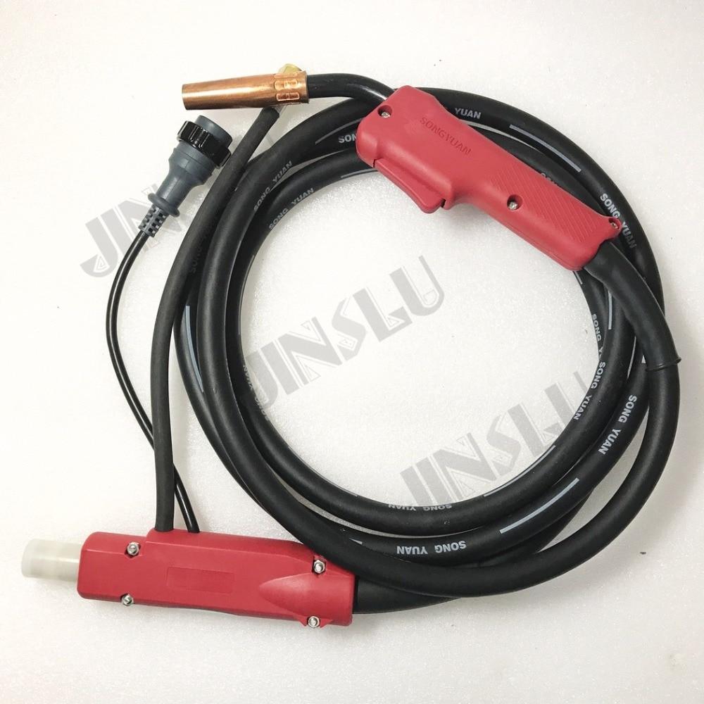 Panasonic Type Gas Cooled Mig Welding Torch KR200 180A 5M for Mig Welder welder machine plasma cutter welder mask for welder machine