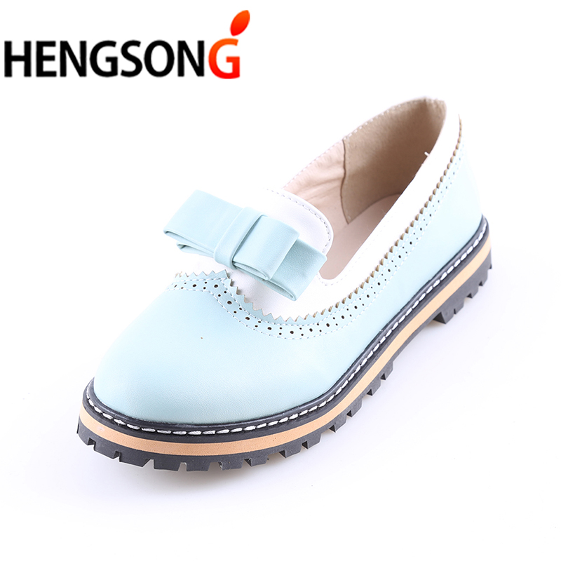 HENGSONG Fashion Party Shoes Spring Summer Women Round Toe ...