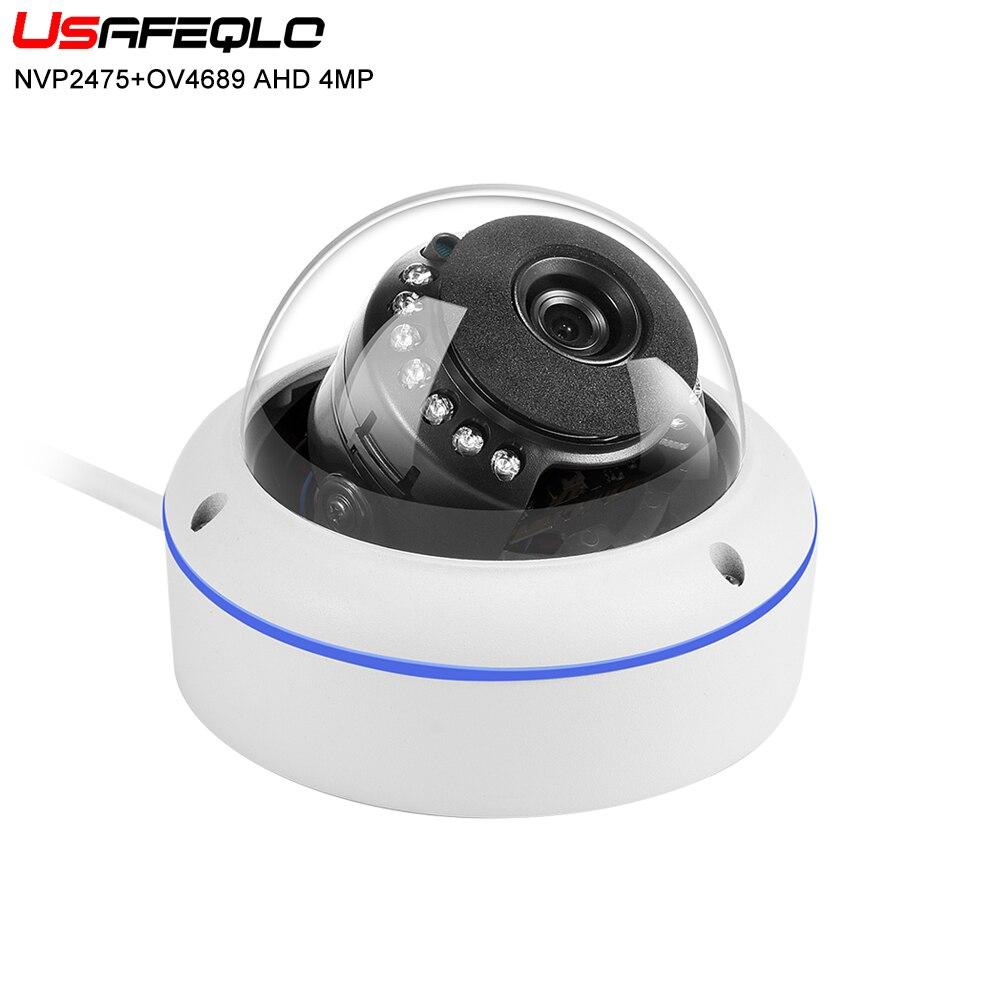 Surveillance Cameras Constructive Usafeqlo Ahd 4mp Security Camera Waterproof Hd Night Vision Dome Camera 15pcs Ir Led 2.8/3.6mm Lens Ir Cut 1/3 Inch Cmos Sensor More Discounts Surprises