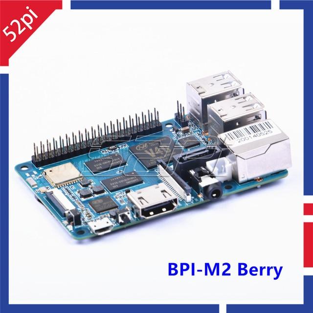 BPI-M2 Berry Banana Pi M2 Quad Core cortex A7 CPU 1G DDR demo Single Board