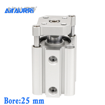 smc type air cylinder CQMB/CDQMB bore 25mm stroke 5/10/15/20/25/30/35/40/45/50mm compact rod guide pneumatic cylinder components bore 20mm 10mm stroke mk type pneumatic cylinder rotary clamp cylinder