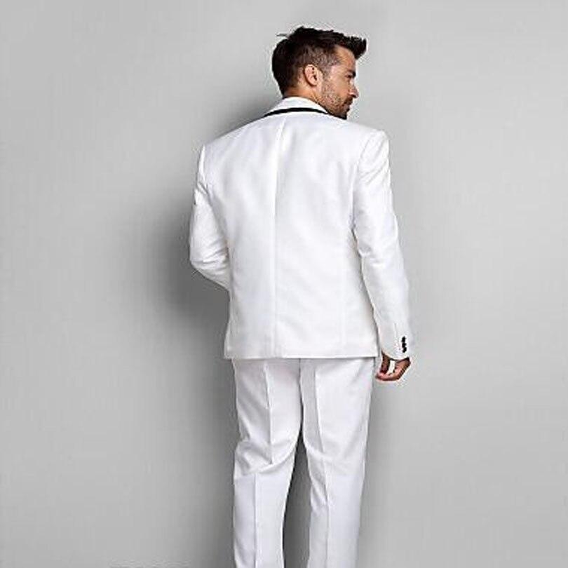 Marié Chaude As 2018 Couleurveste Blanc Smokings Garçons Bouton Décontractée Trois Poches Hommes D'honneur PantalonSame Un D'affaires Solide Picture Arrivée D9H2WIE