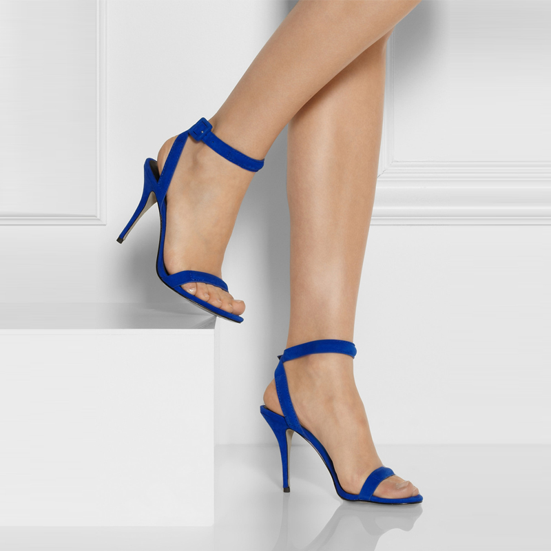 Popular Royal Blue Ankle Strap Sandals-Buy Cheap Royal Blue Ankle