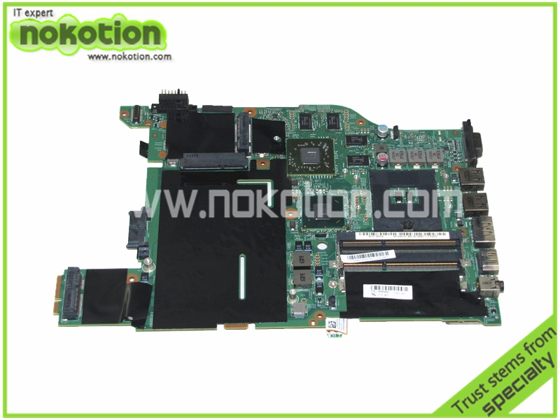 NOKOTION 04W0462 laptop motherboard for lenovo thinkpad edge E420 HM65 ATI HD6630M DDR3 Mainboard Free Shipping все цены