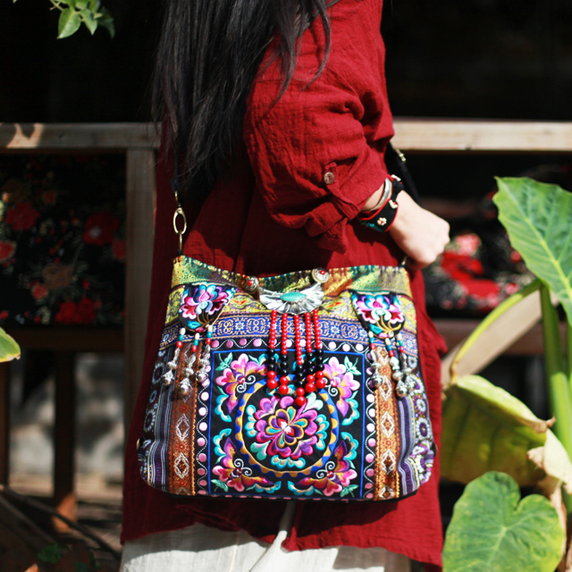 BOHOCHIC Women\'s Original Design Vintage National Bohemian Nepal ...
