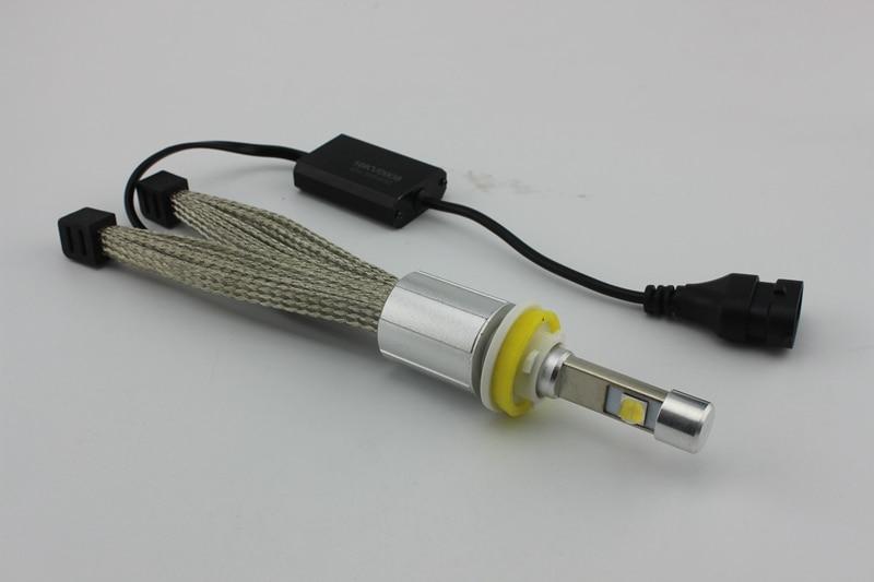 Ossen P70 H8 H9 H11 LED Headlight 5000k 55w 6600lm Xenon White Head light H4 H7 9005 HB3 H10 9006 HB4 9012 9004 9007 H13 Headlights 3