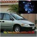 O Envio gratuito de 16 pçs/lote Branco Interior Luzes LED Para Chrysler Plymouth Voyager 1996-2000