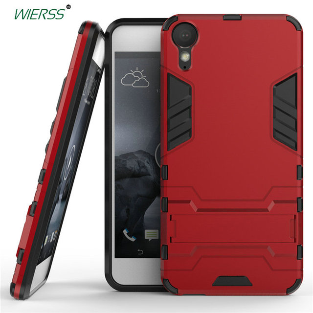 on sale bc60f 4fa37 US $4.12 |For HTC Desire 10 Lifestyle 3D Luxury Combo Armor Case For HTC  Desire 10 Lifestyle Shockproof Back cover Case shell with Stand-in Fitted  ...