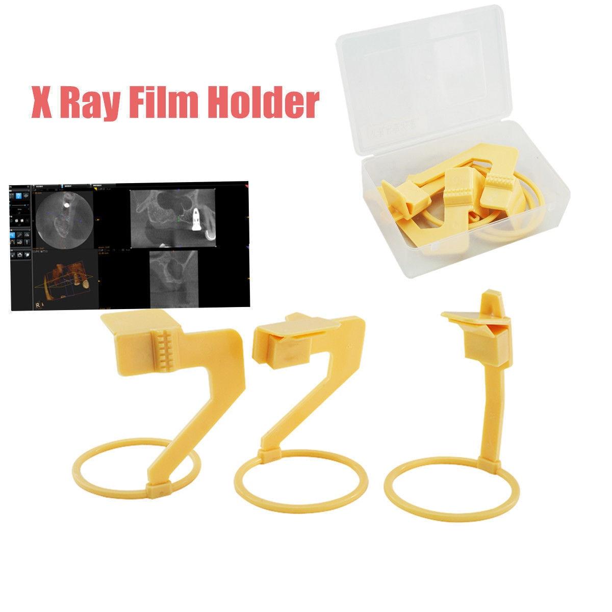1 Satz (3 Stück) Dentaleinsatz Digitaler X-Ray Film Sensor Positionierer Halter Kunststoff