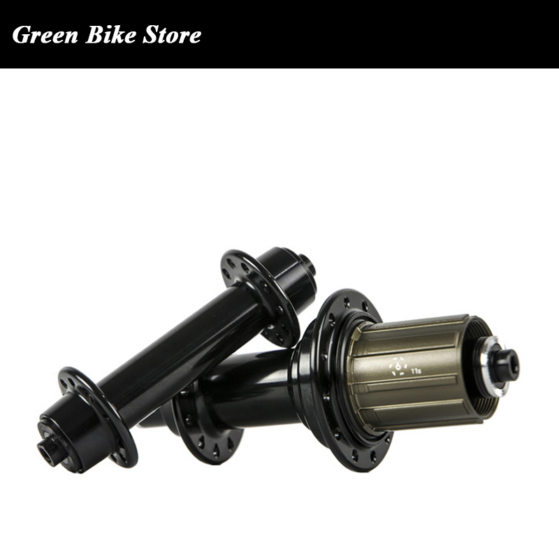 Moyeu de vélo de route Powerway R13 20/24 trous avec moyeu de roue de route à dégagement rapide 18/21 trous pièces de vélo