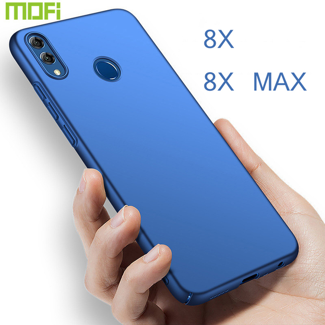US $6 48 28% OFF|Honor 8X Case For Huawei Honor 8X Case Cover Mofi For  Huawei Honor 8X Max Case Pc Hard Back Cover Soild Color Thin Honor8X  Black-in