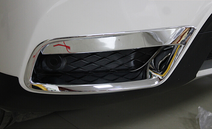 For Honda Civic 2016-2017 2x Carbon Fiber Style Front Fog Lamp Light Cover Trim