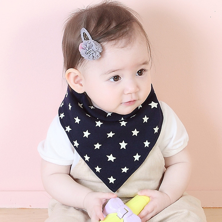 New Baby Cartoon Bibs Scarf Newborn Infant Feeding Clothes Bandana Drool Bib Toddler Boys Girls Kids Dress Accessory